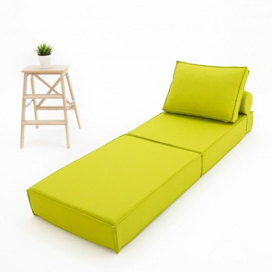 Кресло-кровать Рогожка зеленый