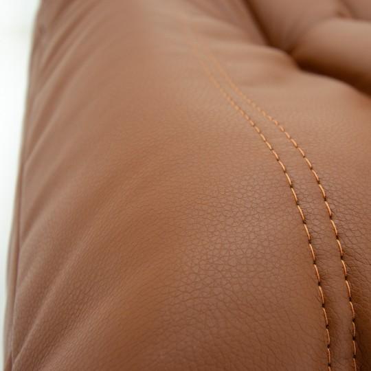 Кресло Француз Экокожа коричневая