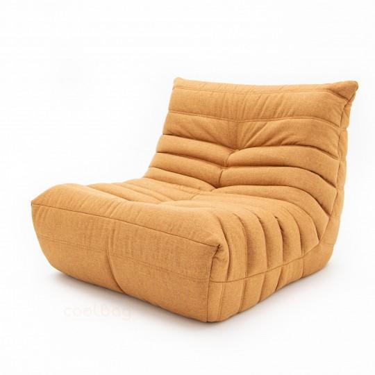 Кресло Француз Рогожка Оранжевый