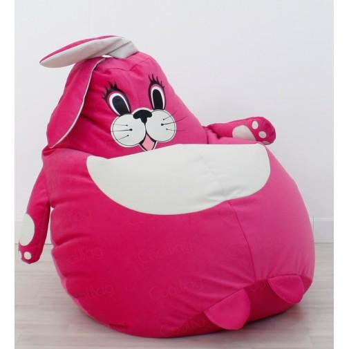 Кресло мешок игрушка Зайка
