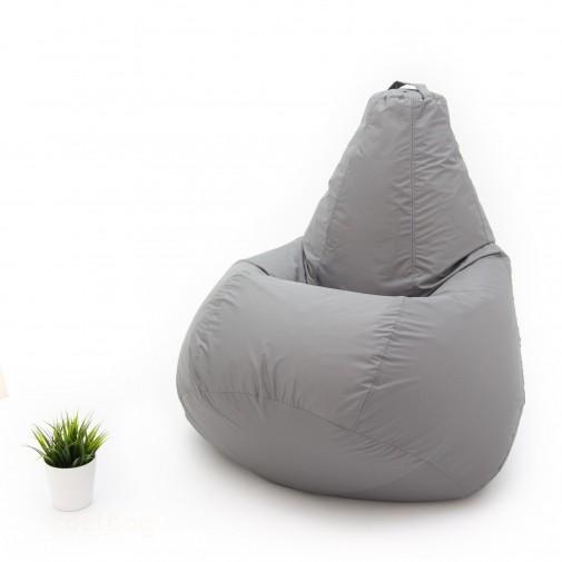Кресло груша Хайп Серый