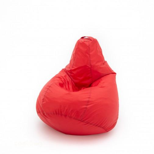 Кресло груша Конкурент Красный