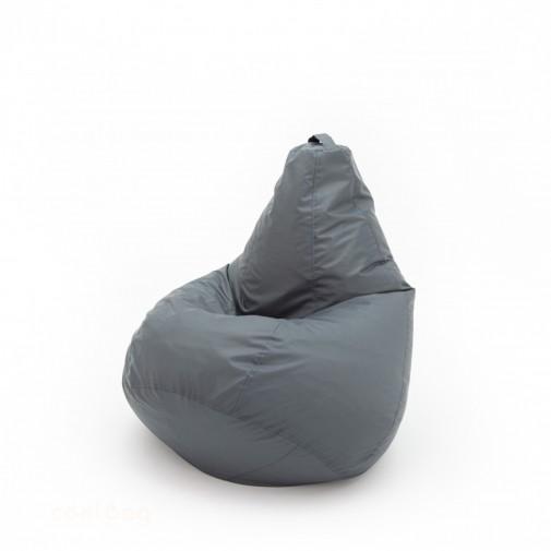 Кресло груша Конкурент Темно серый