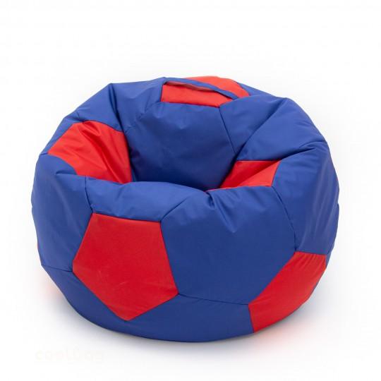 Кресло мяч сине-красный