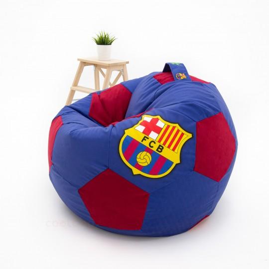 Кресло мяч сине-красный ВЕЛЮР Барселона